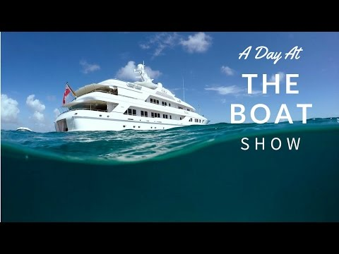 Super Yachts & The Antigua Boat Show! #VlogLife 7
