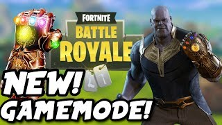 FORTNITE - NEW! MARVEL GAMEMODE!