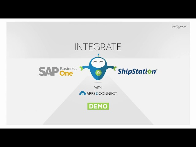 How to Integrate SAP Business One with ShipStation - APPSeCONNECT