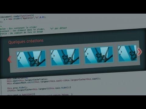 Tutoriel jQuery - Slider Javascript avec jQuery