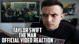 TAYLOR SWIFT - THE MAN OFFICIAL VIDEO REACTION