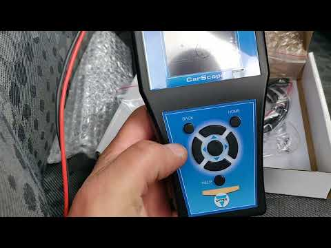 AutoDitex i-tester unboxing