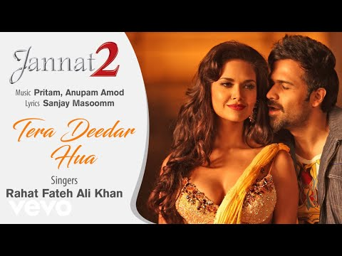 Tera Deedar Hua - Official Audio Song   Jannat 2  Rahat Fateh Ali Khan  Pritam