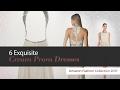 6 Exquisite Cream Prom Dresses Amazon Fashion Collection 2017