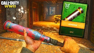 "NEW ""BASEBALL BAT"" MELEE WEAPON GAMEPLAY in COD WW2!! (Best Baseball Bat Class Setup)"