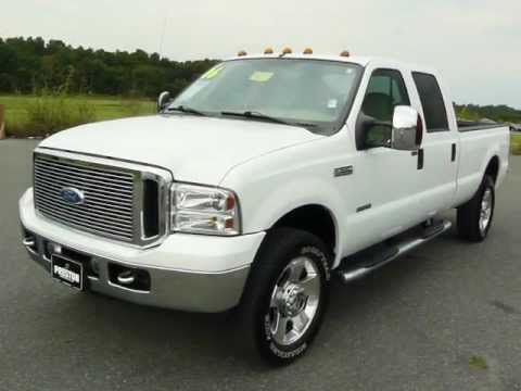 used truck for sale md ford f350 diesel powerstroke v8 4wd crew cab long bed youtube. Black Bedroom Furniture Sets. Home Design Ideas