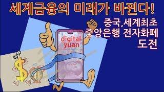 세계금융의 미래가 바뀐다; 중국의 세계최초 국가전자화폐