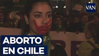 Cuatro heridos en una manifestación pacífica a favor del aborto en Chile