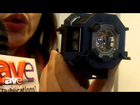 ISE 2014: UHR Displays Projector Lamp