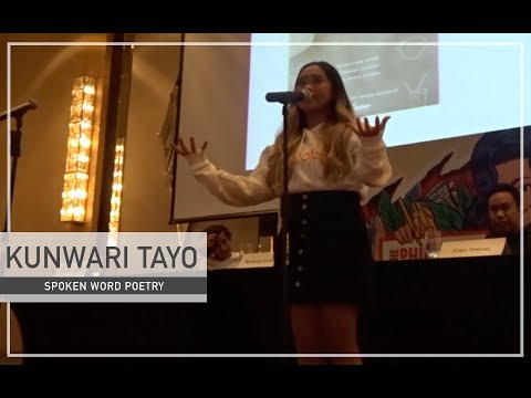 KUNWARI TAYO - Spoken Word Poetry // Beverly Cumla