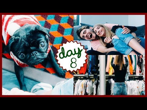 SORTING OUT MY WARDROBE | VLOGMAS