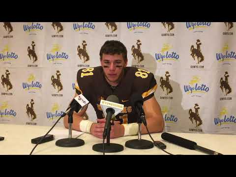 Wyoming's Austin Fort scores three touchdowns against New Mexico
