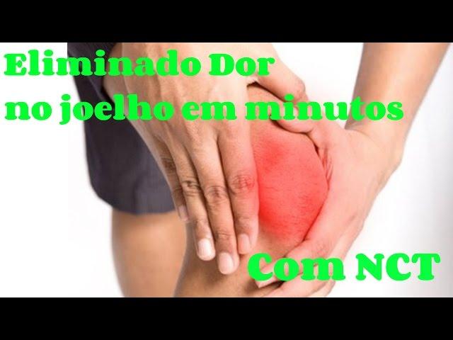Como curar dores no joelho - Demonstração e depoimento de cura