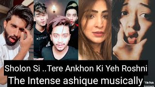 Download lagu Sholon Si ..Tere Ankhon Ki Yeh Roshni Musically Videos    New Musical.ly Video Compilation