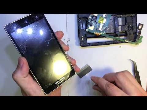 Lenovo A536 - замена сенсора (тачскрина) стекло / Sensor Replacement (touchscreen) Glass