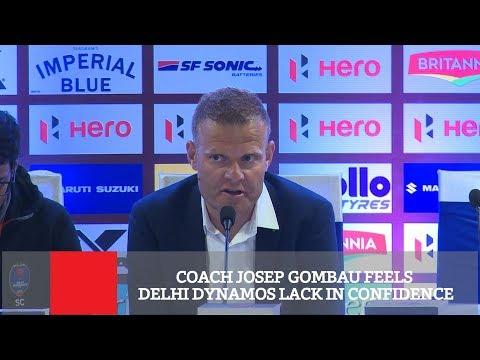 Coach Josep Gombau Feels Delhi Dynamos Lack In Confidence
