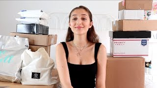 HUGE UNBOXING HAUL! PR Packages, REVOLVE & more!