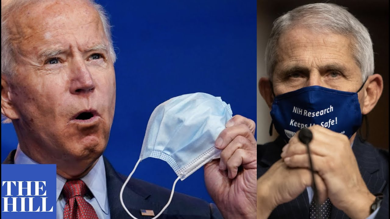 Biden speaks on Dr. Fauci's call for nationwide mask mandate to fight COVID-19