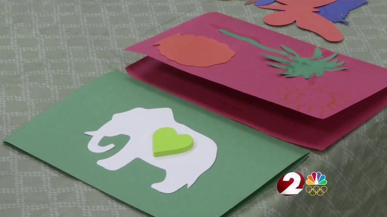 Wdtn Wright State Is Cheering Up Sick Children With Cards 4 Kids