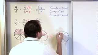 Simplifying Fractions, Part 1 - 5th Grade Math