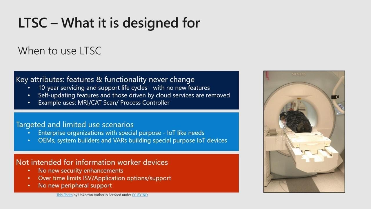 The pros and cons of LTSC in the enterprise - THR3006