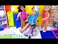 AG Dolls Dress up Doll Clothes Gymnastics Class!