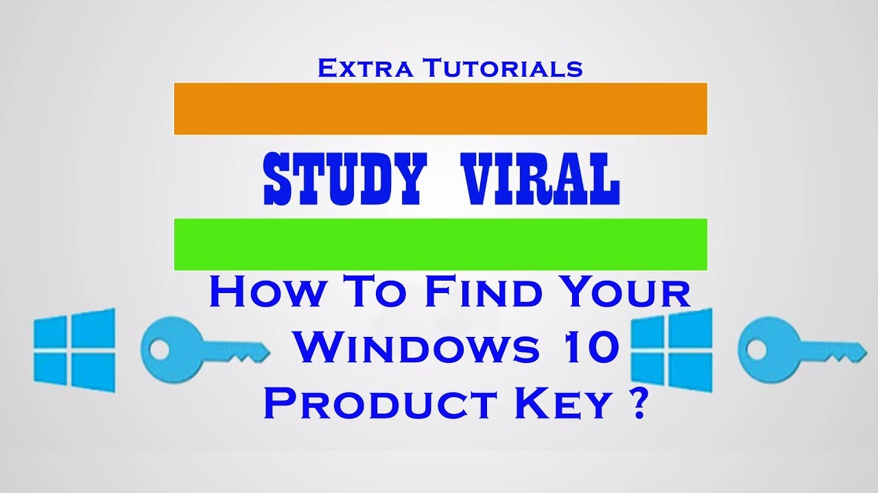 How to Find Your Windows 10 Product Keys Using Command ...