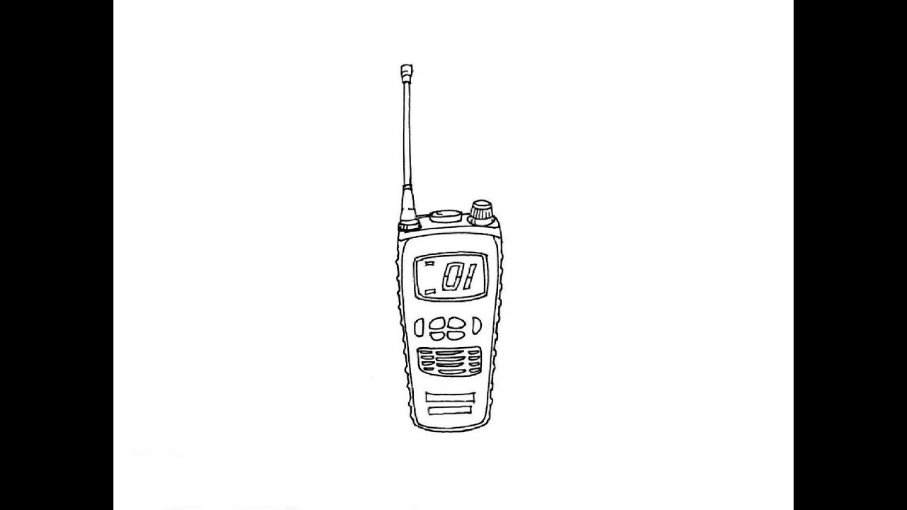 how to draw a walkie talkie     u041a u0430 u043a  u043d u0430 u0440 u0438 u0441 u043e u0432 u0430 u0442 u044c  u0440 u0430 u0446 u0438 u044e
