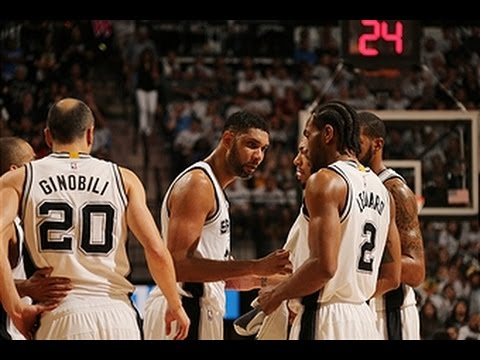 San Antonio Ties Playoff Franchise Record for Points in a Quarter!