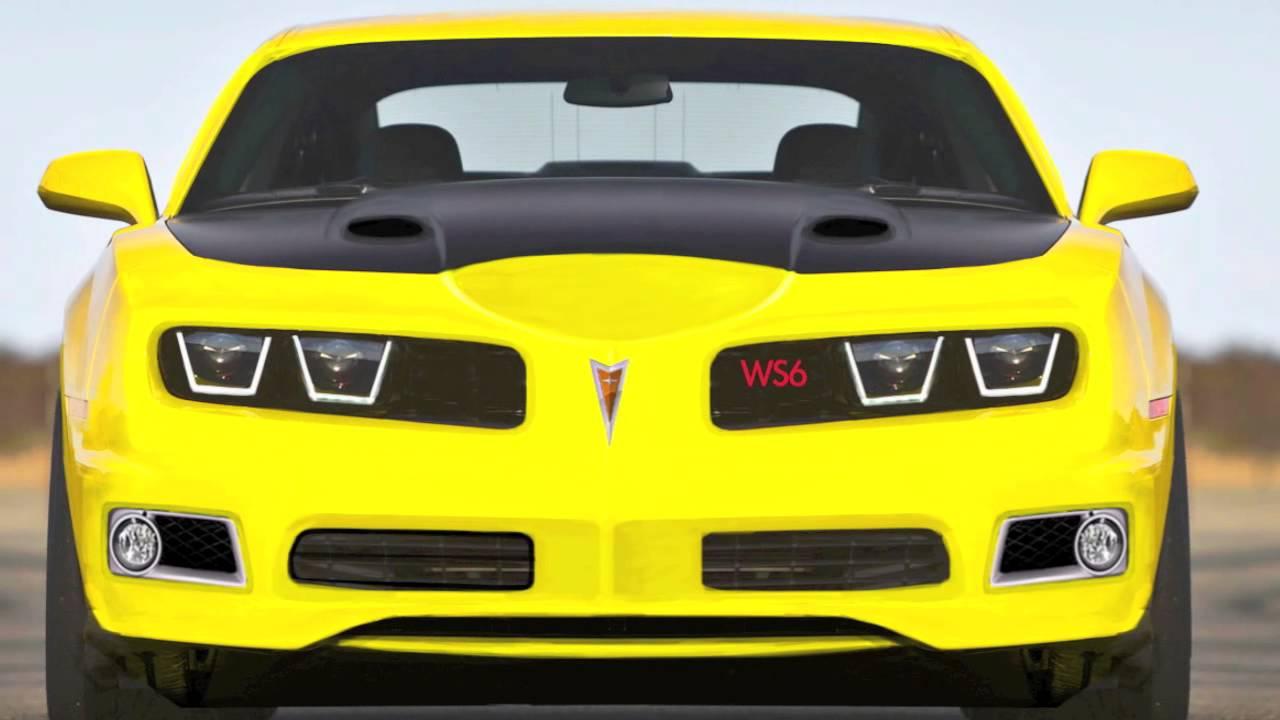 2017 Pontiac Trans Am Ws6 Concept