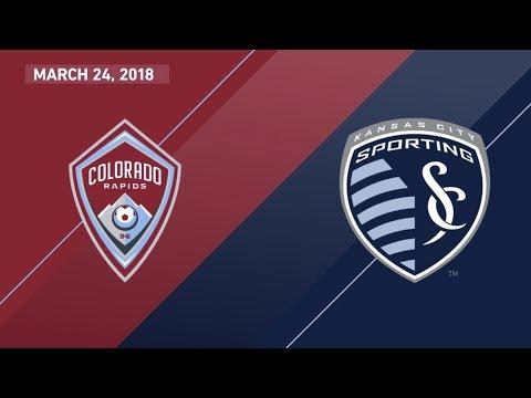 HIGHLIGHTS: Colorado Rapids vs. Sporting Kansas City | March 24, 2018