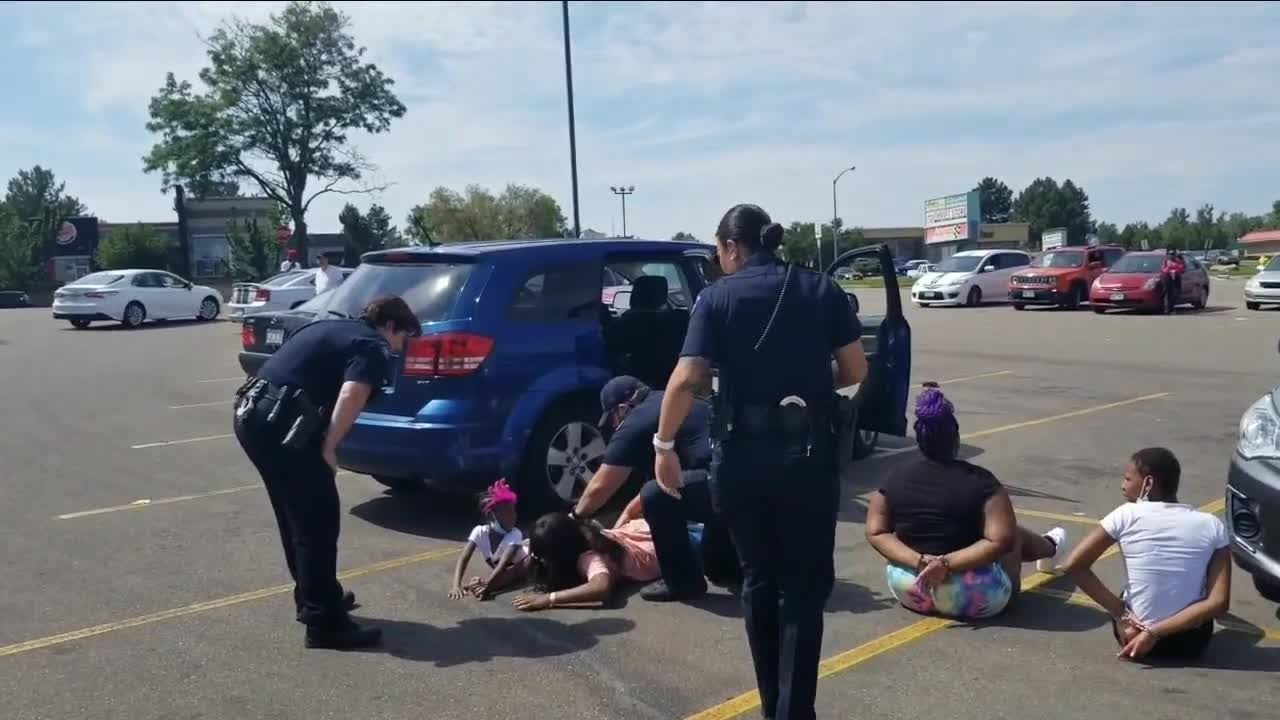 Aurora police detain black family after mistaking their vehicle as stolen