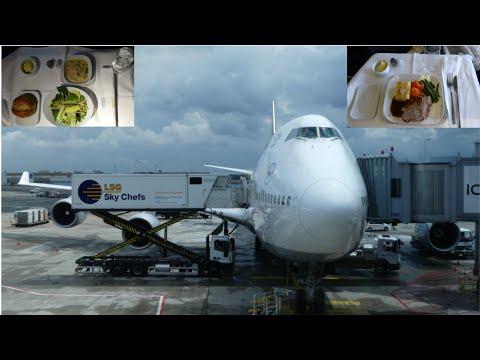 [Tripreport] Lufthansa Business Class | Boeing 747-400 | Frankfurt-Toronto