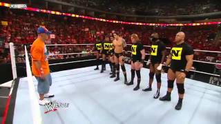 John Cena's Team vs Nexus