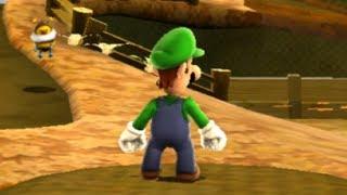 Super Luigi Galaxy Walkthrough - Part 14 - Gold Leaf Galaxy