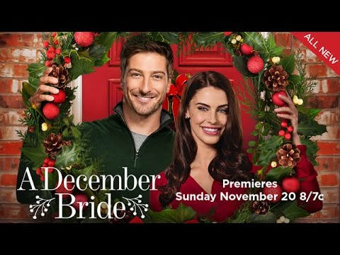 Preview A December Bride Starring Daniel Lissing And Jessica Lowndes Hallmark Channel You