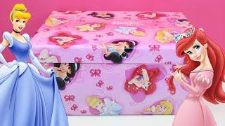 Princesas Disney Caja sorpresa   Huevo sorpresa Princesas Disney   Disney Princess unboxing thumbnail