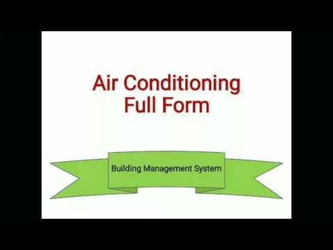 HVAC Full Form