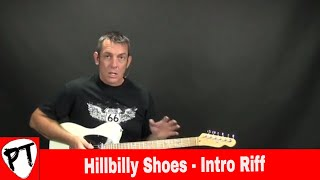 How To Play - Hillbilly Shoes - Montgomery Gentry  - chicken pickin