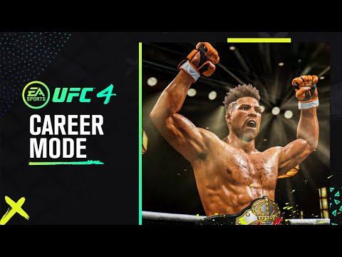UFC 4 Official Career Mode Trailer