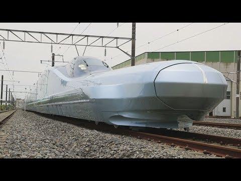 次世代新幹線の試験車完成  JR東日本、全体像を初公開