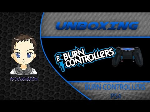 unboxing 1 burn controllers ps4 youtube. Black Bedroom Furniture Sets. Home Design Ideas