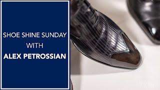Shoe Shine Sunday - Chat with Alex Petrossian   Kirby Allison