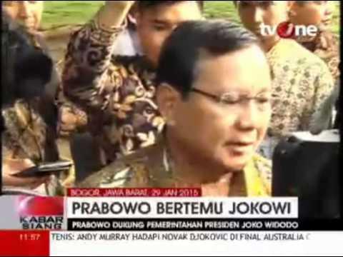 Selamatkan KPK, Jokowi Bertemu dengan Prabowo