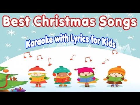 Christmas Hits - Best Christmas Songs Karaoke with lyrics for Kids
