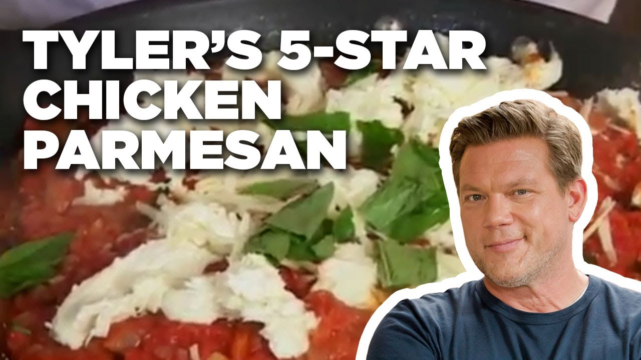 Tylers 5 star chicken parmesan how to food network youtube tylers 5 star chicken parmesan how to food network forumfinder Images