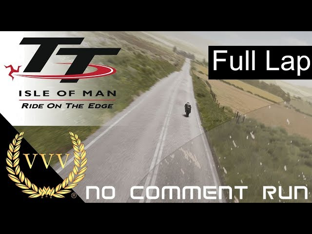 TT Isle of Man - Mountain Course, Full Lap - Gameplay