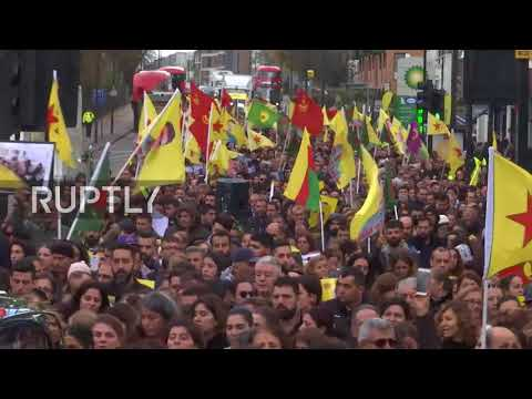 UK: 'His weapon was his camera' - Thousands mourn British-Kurdish filmmaker killed in Raqqa