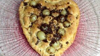 Grape Sweetheart Pizza Pie