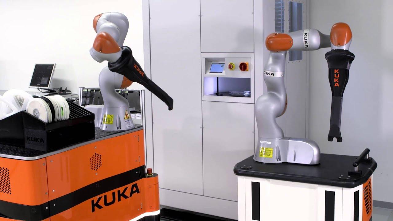 Kuka Lbr Iiwa Robot Optimizes Electronic Circuit Production Youtube Industries
